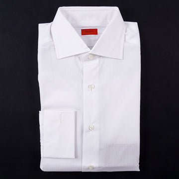Isaia 'Italia Fit' French Cuff Cotton Dress Shirt - Top Shelf Apparel