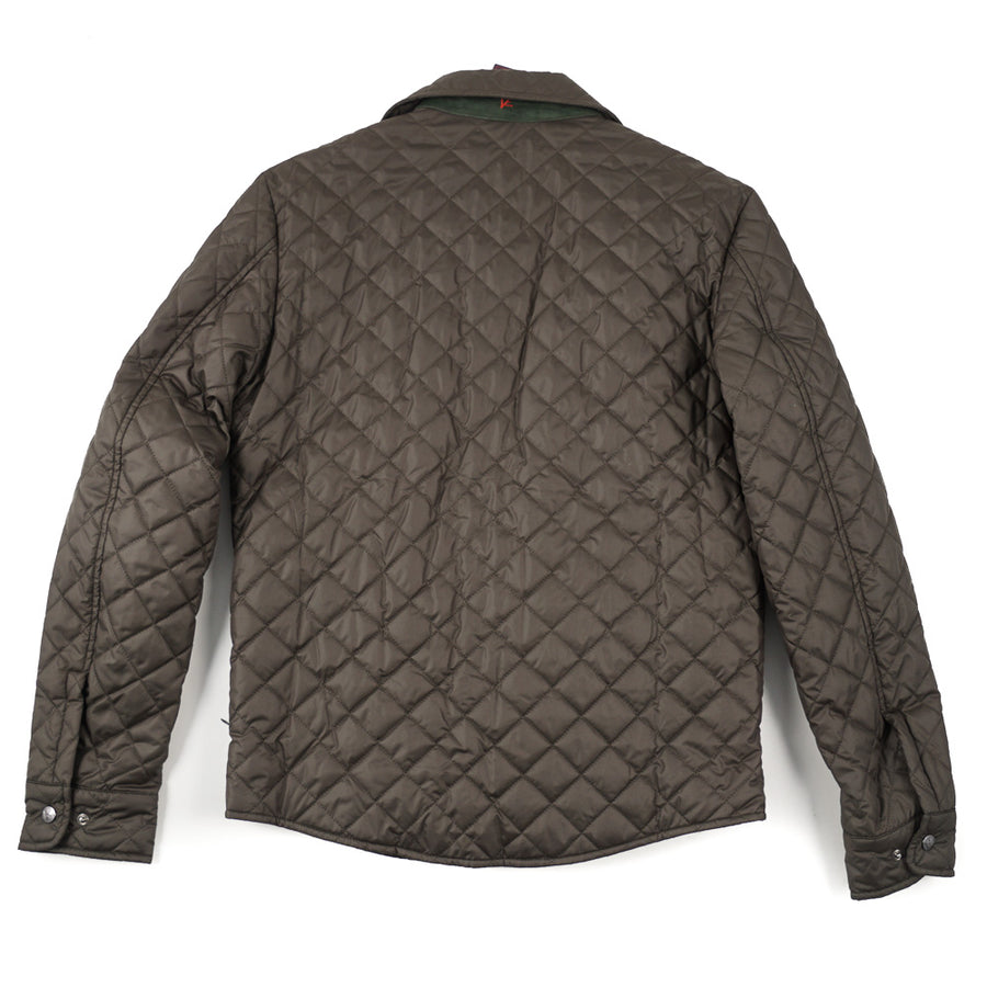 Isaia Quilted Puffer Shirt-Jacket - Top Shelf Apparel