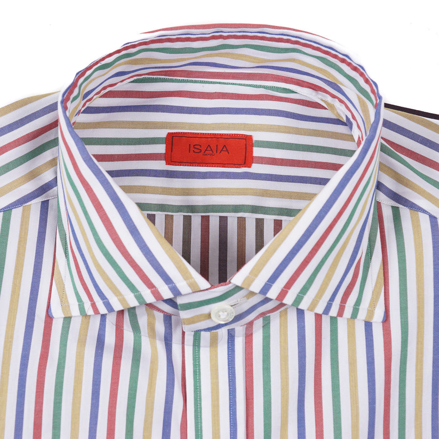 Isaia Slim-Fit Dress Shirt