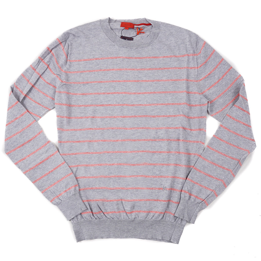 Isaia Superfine Linen and Cotton Sweater