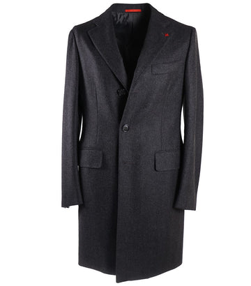 Isaia Super 170s Wool-Cashmere Overcoat - Top Shelf Apparel