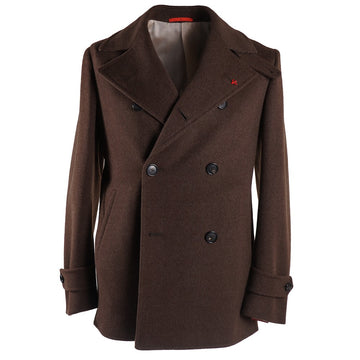 Isaia 'Cortina' Slim-Fit Pea Coat - Top Shelf Apparel