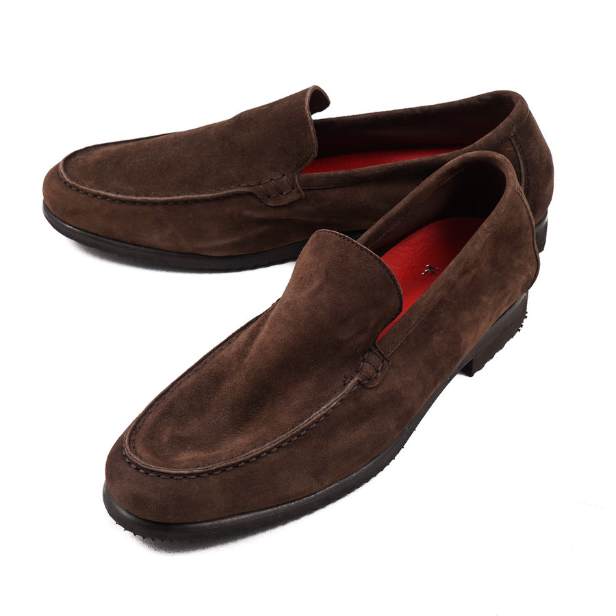 Isaia Lightweight Nappa Suede Loafer