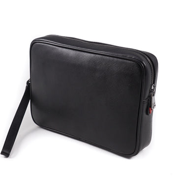 Isaia Saffiano Leather Toiletry Bag