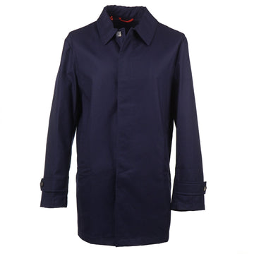 Isaia Lightweight 'Techno Cashmere' Overcoat