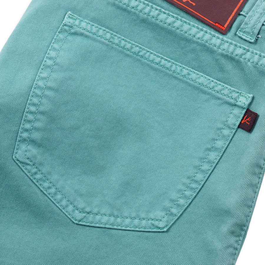 Isaia Straight-Fit Garment Dyed Denim Jeans - Top Shelf Apparel