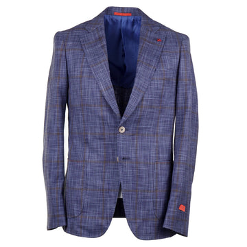 Isaia Slim-Fit Silk and Cotton Sport Coat - Top Shelf Apparel
