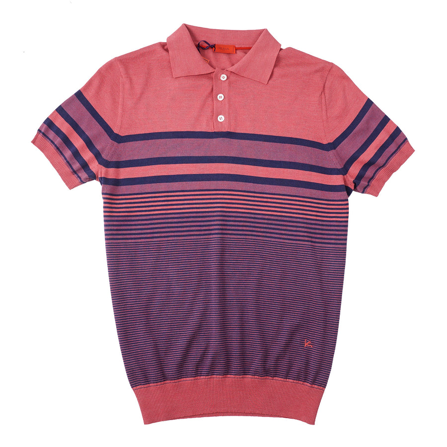 Isaia Lightweight Silk and Cotton Polo Shirt - Top Shelf Apparel
