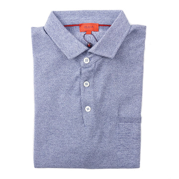 Isaia Knit Fine-Gauge Cotton Polo Shirt - Top Shelf Apparel