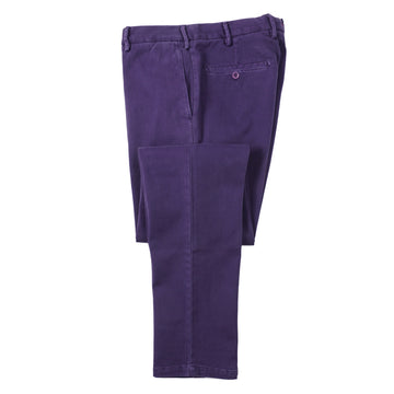 Isaia Slim-Fit Stretch Twill Cotton Pants - Top Shelf Apparel