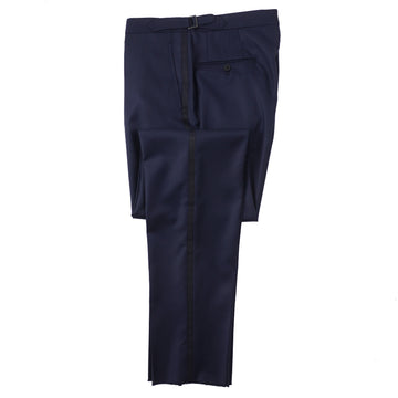 Isaia Midnight Blue Formal Tuxedo Pants - Top Shelf Apparel