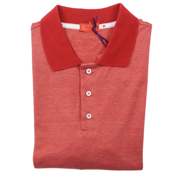 Isaia Superfine Silk and Cotton Polo Shirt - Top Shelf Apparel