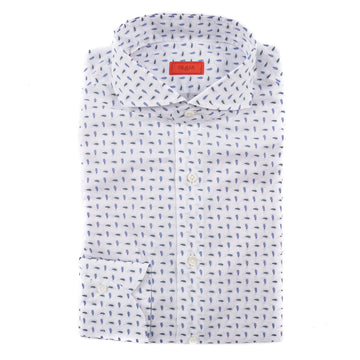Isaia Slim-Fit Lightweight Cotton-Linen Shirt - Top Shelf Apparel