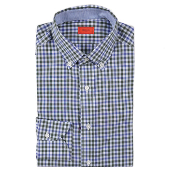 Isaia Slim-Fit Cotton Dress Shirt - Top Shelf Apparel