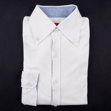Isaia Superfine Jersey Silk and Cotton Shirt - Top Shelf Apparel