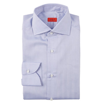 Isaia Modern 'Mix Fit' Herringbone Cotton Dress Shirt - Top Shelf Apparel