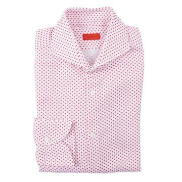 Isaia Slim-Fit Floral Print Cotton Shirt - Top Shelf Apparel