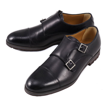 Isaia Double Buckle Monk Strap with Lightweight Sole