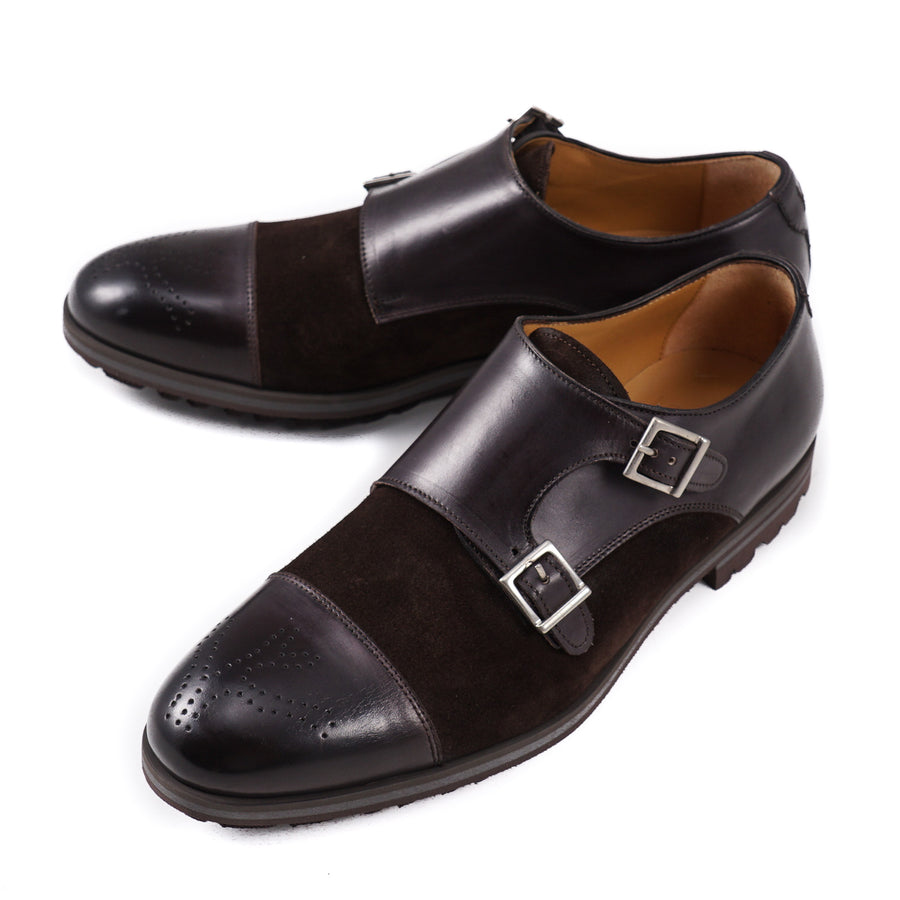 Isaia Double Buckle Monk Strap with Lightweight Sole - Top Shelf Apparel