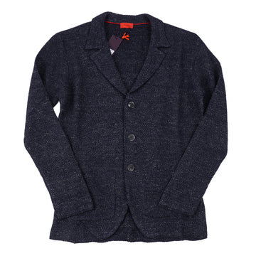 Isaia Linen and Wool Cardigan Sweater-Blazer - Top Shelf Apparel