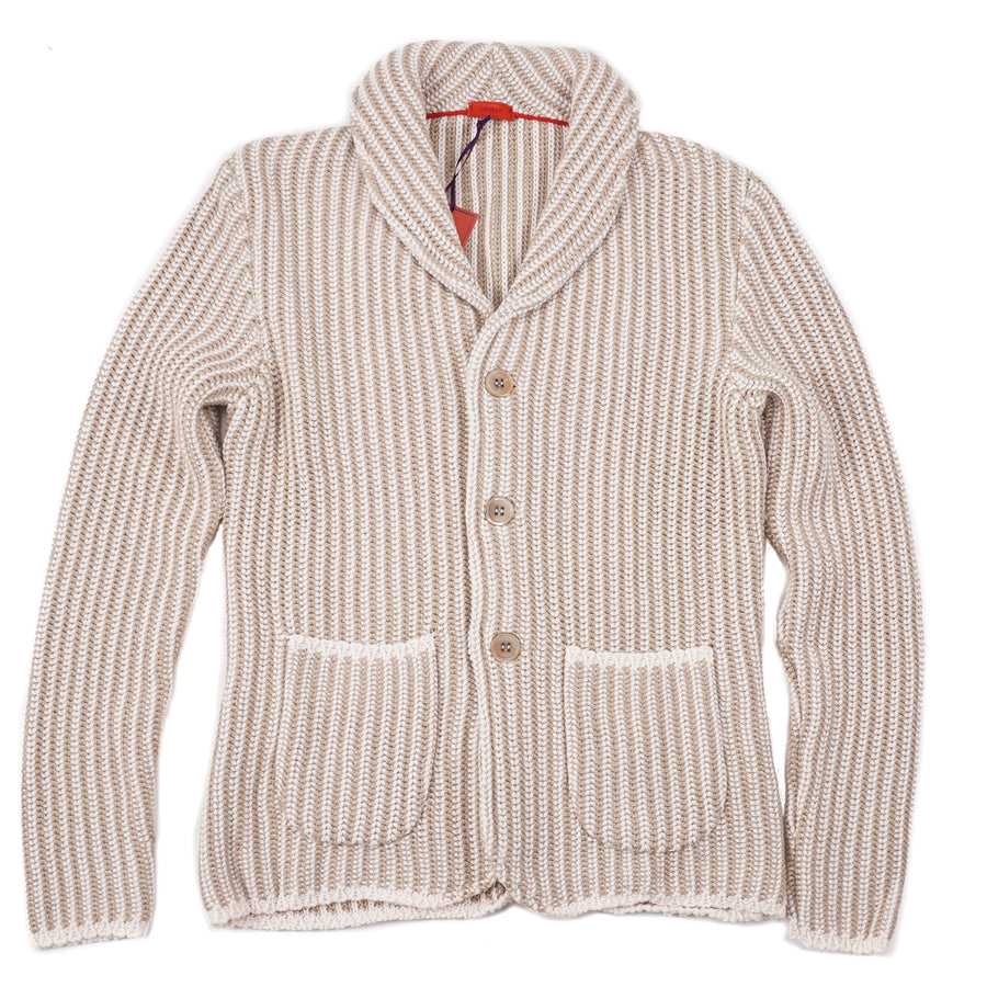 Isaia Slim-Fit Knit Cardigan Blazer - Top Shelf Apparel