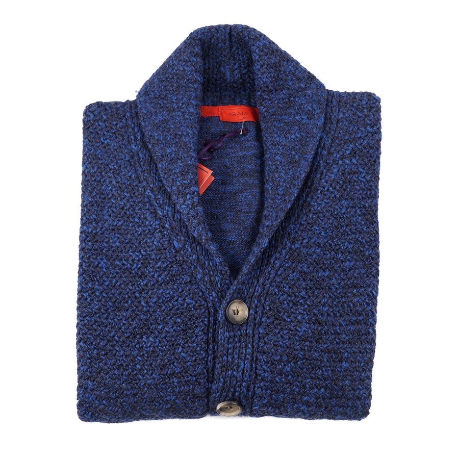 Isaia Knit Cardigan Sweater with Shawl Collar - Top Shelf Apparel