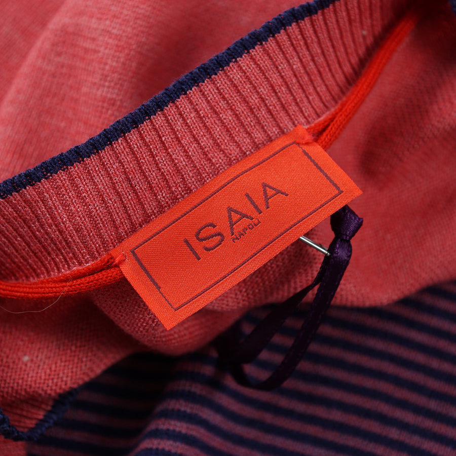 Isaia Slim-Fit Superfine Silk-Cotton Sweater - Top Shelf Apparel