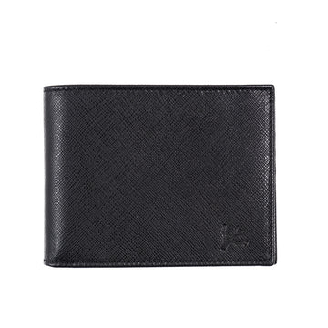 Isaia Textured Leather Bifold Wallet
