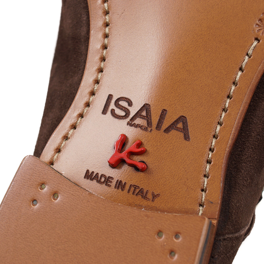 Isaia Lightweight Double Buckle Monk Strap