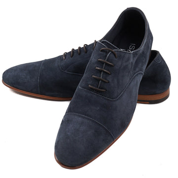 Isaia Lightweight Nappa Suede Oxford - Top Shelf Apparel