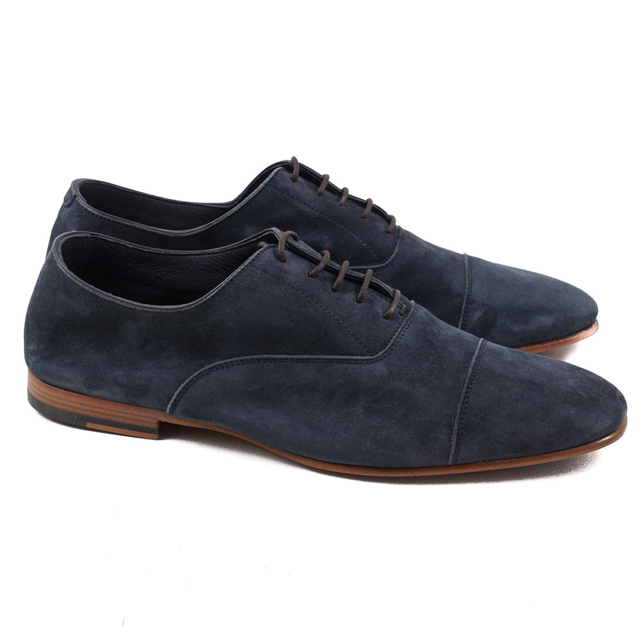 Isaia Lightweight Nappa Suede Oxford