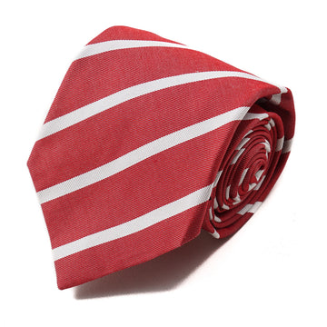 Isaia 7-Fold Striped Twill Tie