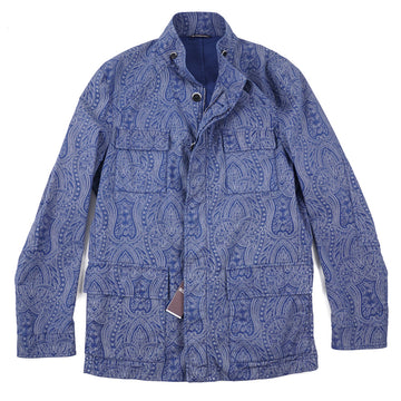 Roda 'Sapporo' Jacket in Paisley Cotton