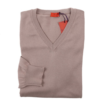 Isaia Fine-Gauge Cotton Sweater