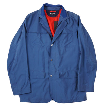 Kiton Lightweight Cashmere-Lined Silk Jacket