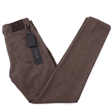 Kiton Slim Fit Five-Pocket Woven Wool Pants