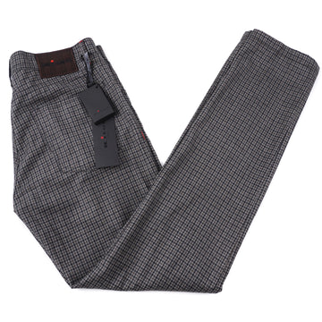Kiton Slim Fit Five-Pocket Soft Wool Pants