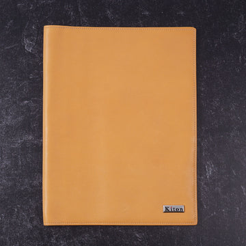 Kiton Leather Organizer with Address Book