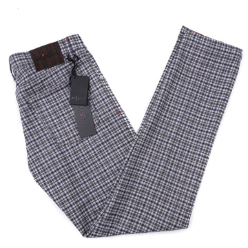 Kiton Slim Fit Five-Pocket Wool Pants
