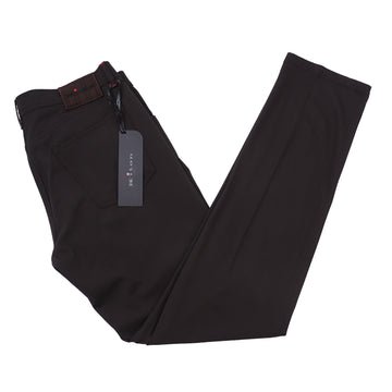 Kiton Slim Fit Five-Pocket Lightweight Wool Pants