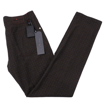 Kiton Slim Fit Five-Pocket Wool Pants - Top Shelf Apparel