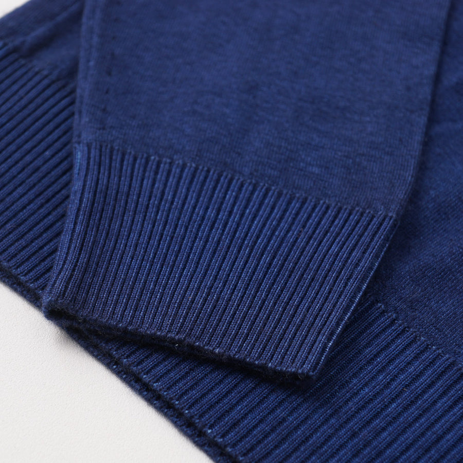 Kiton Cashmere Nuvola Sweater in Ocean Blue
