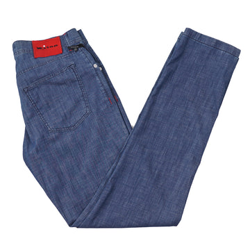 Kiton Lightweight Chambray Jeans