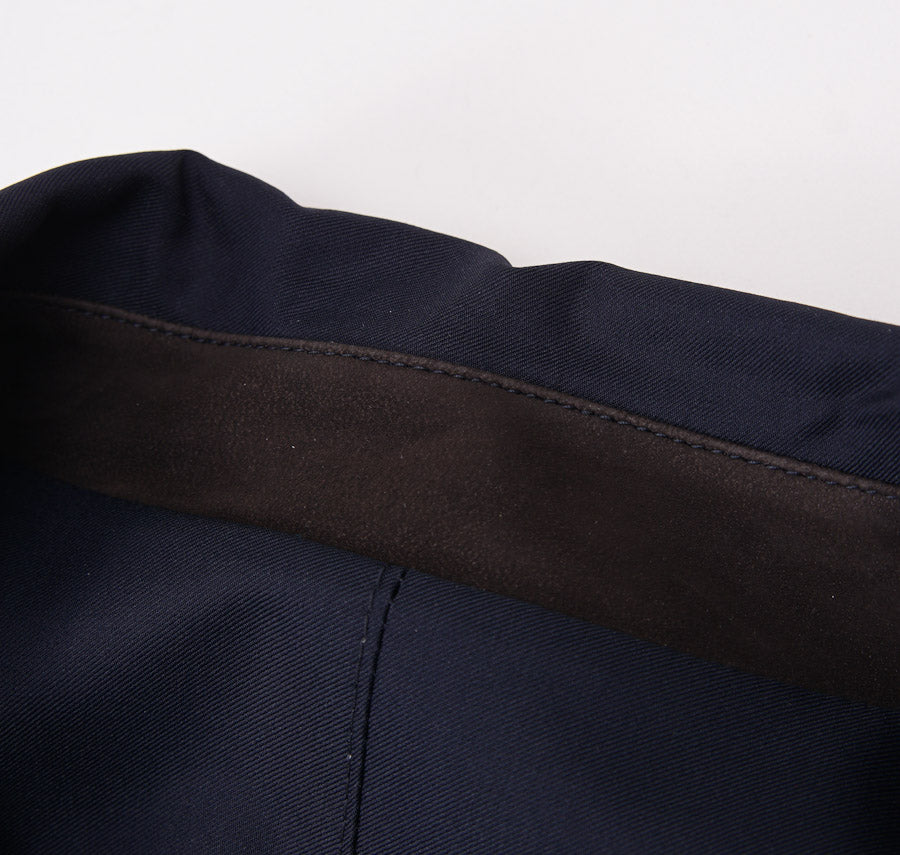 Kiton Reversible Quilted Cashmere Coat