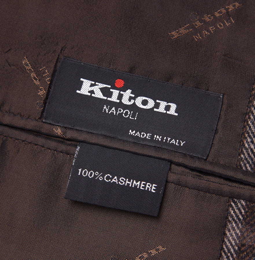 Kiton Multi-Windowpane Check Cashmere Sport Coat - Top Shelf Apparel