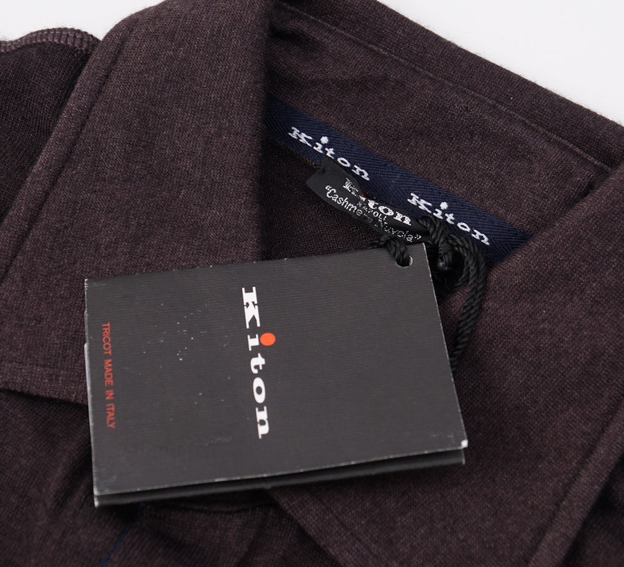 Kiton Button-Front Cashmere Sweater-Shirt - Top Shelf Apparel