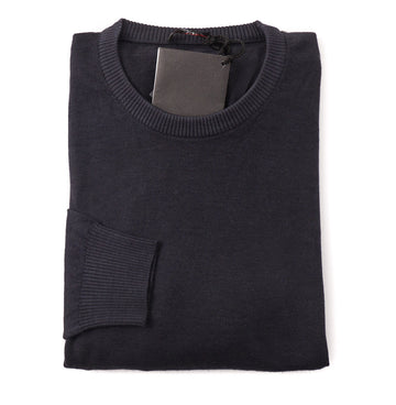 Kiton Cashmere Nuvola Sweater in Dark Gray