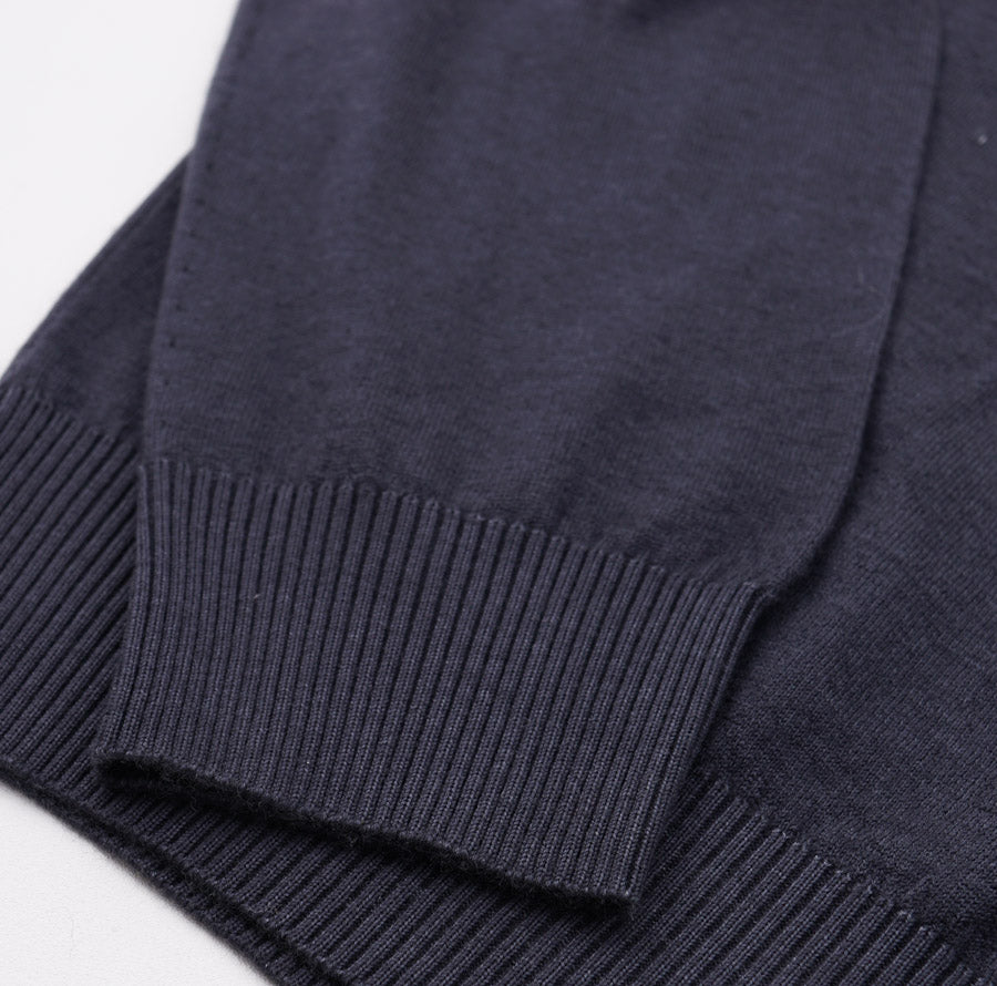 Kiton Dark Gray Cashmere Nuvola Sweater