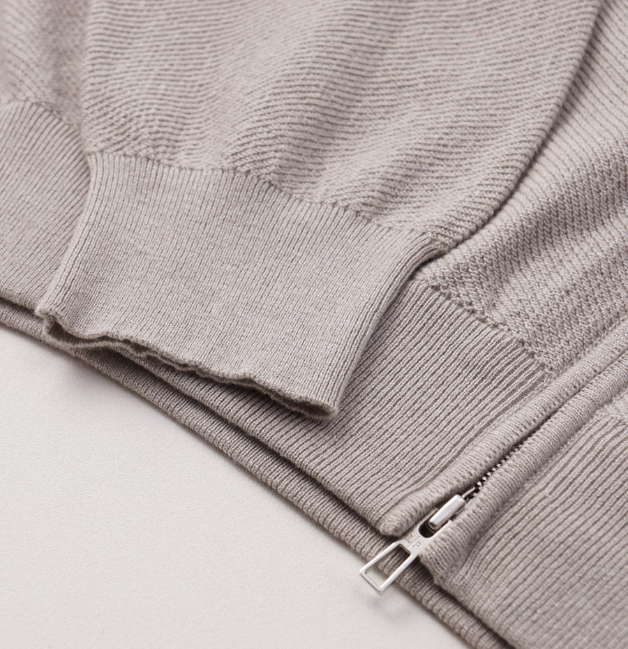 Loro Piana Cashmere-Silk Roadster Sweater