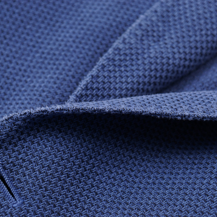 L.B.M. 1911 Blue Cotton-Linen Sport Coat